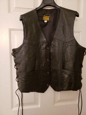 Protech Men's Leather Vest for Sale in Midlothian, VA