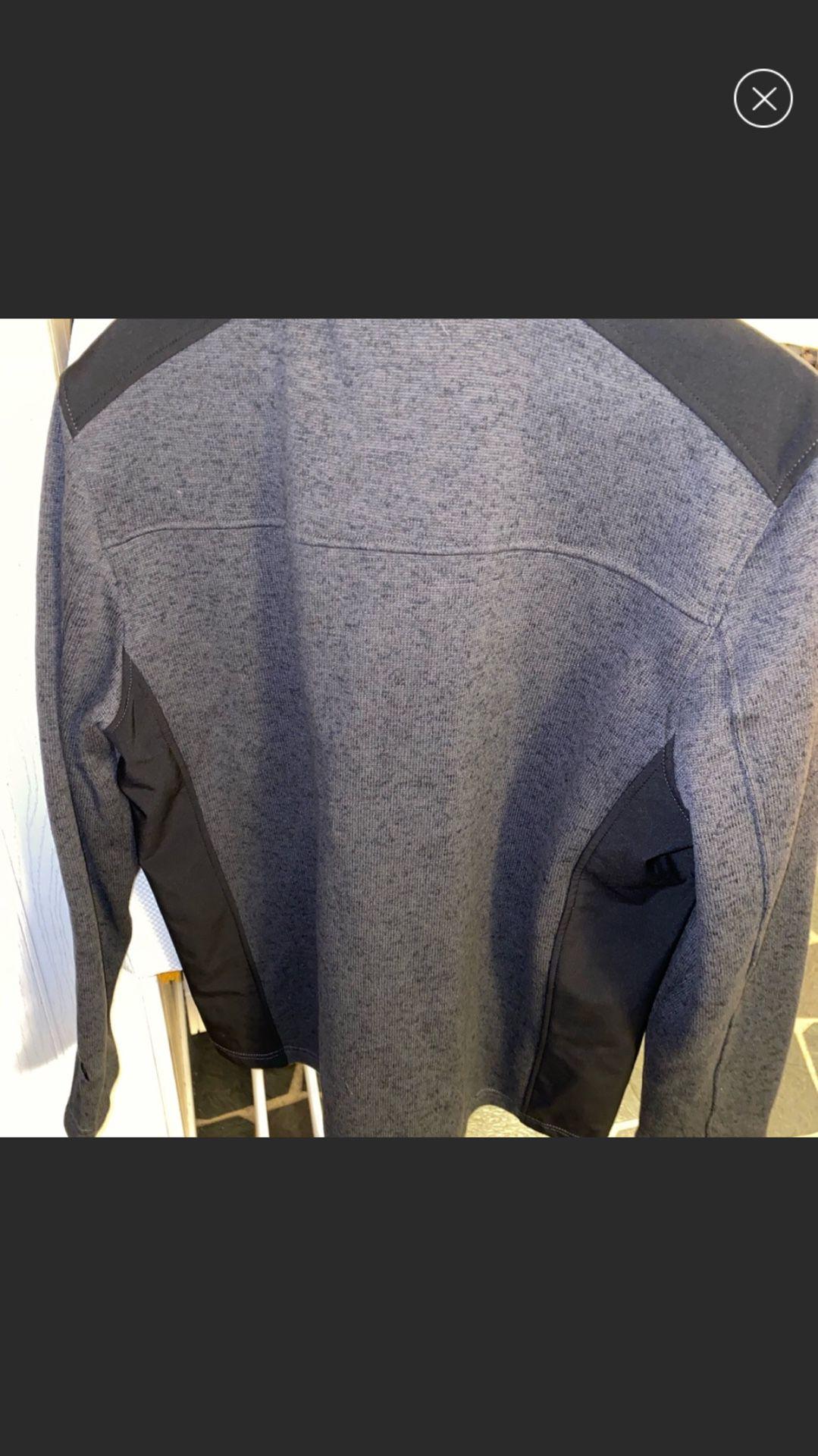 Gerry Mens Full Zip Mix Media Jacket