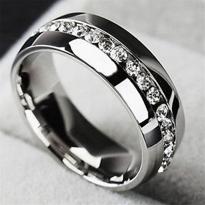 Men/Women Stainless Steel Diamond Ring for Sale in Silver Spring, MD
