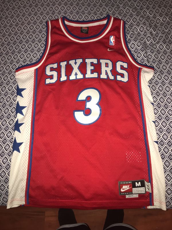 new product 63c68 84332 Allen iverson jersey for Sale in Lawrence, MA - OfferUp