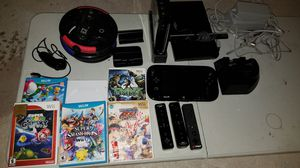Nintendo Wii u and nintendo Wii and games for Sale in El Paso, TX