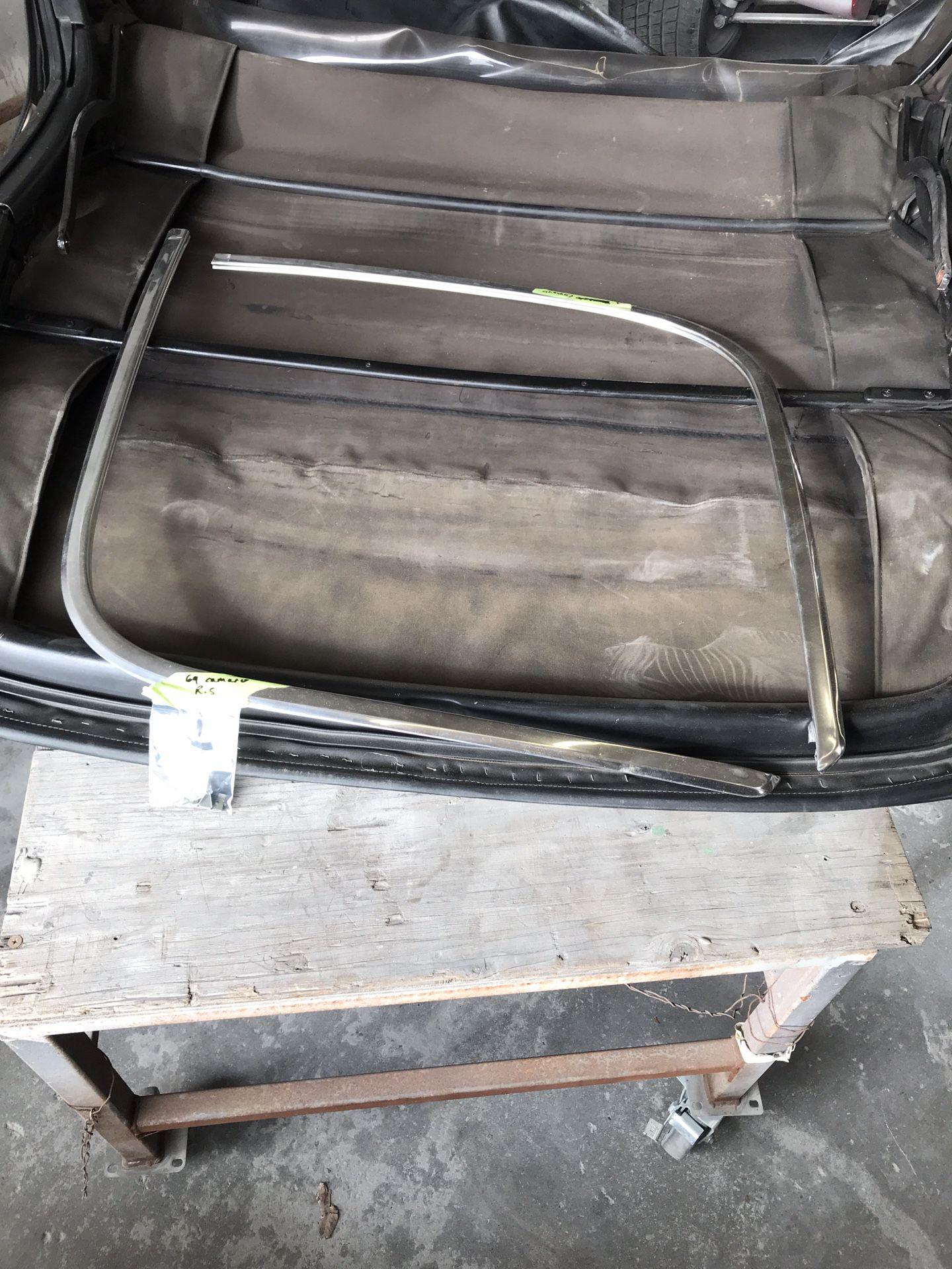 1968 Camaro Convertible Bows