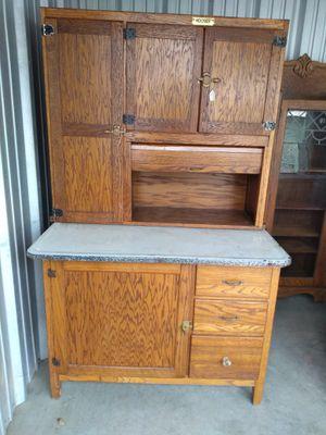 Antique Oak Hooser cabinet for Sale in Durham, NC