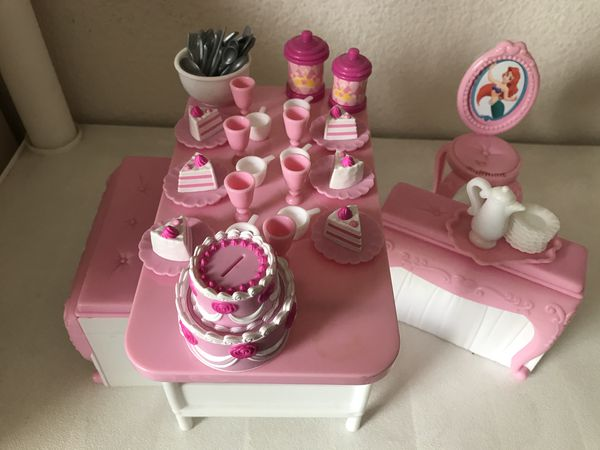 Disney Princess Birthday Table And Accessories