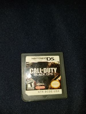 Nintendo DS Call of Duty for Sale in Germantown, MD