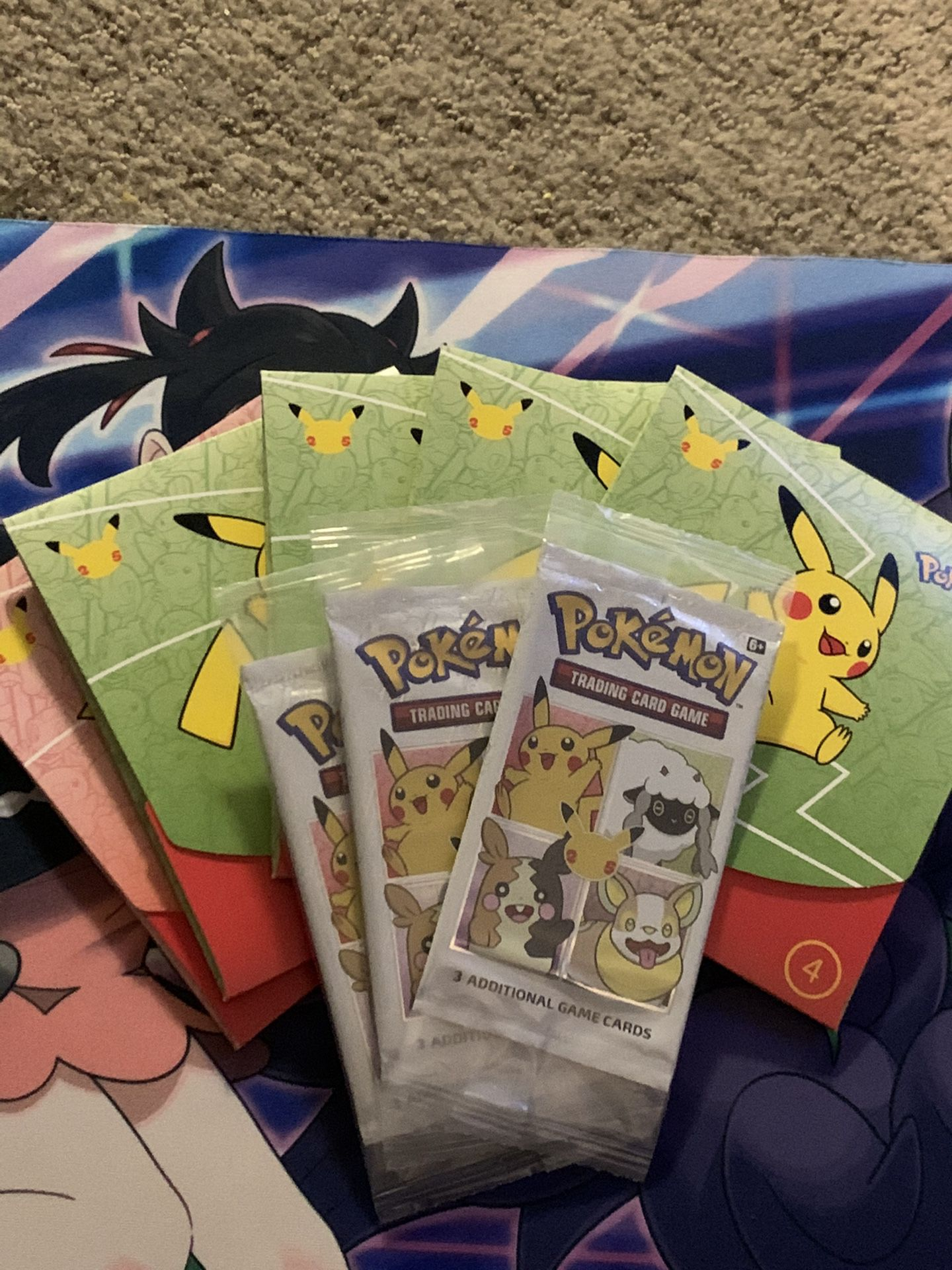 Pokemon Promo Pack Lot Of 8