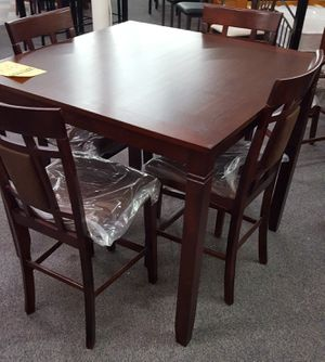 Brand New 5 Piece Wood Dining Set for Sale in Silver Spring, MD