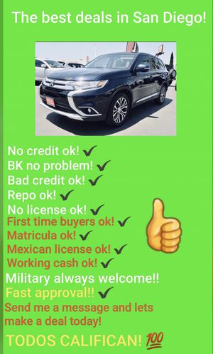 Photo 2016 MITSUBISHI OUTLANDER! USE YOUR TAX REFUND!
