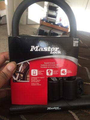 Master keyed U Lock fireproof brand new for Sale in Herndon, VA