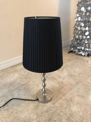 Ikea Ekarp Table Lamp With Black Shade For In Palm Harbor