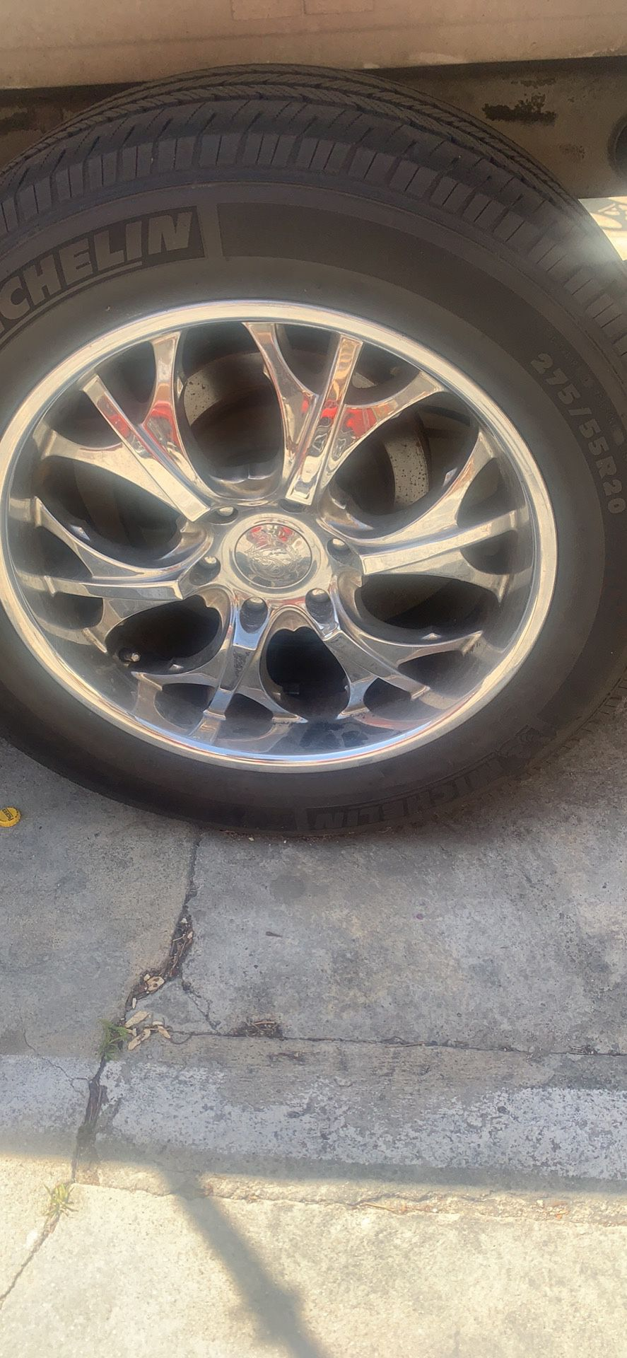 Wheels And Tires 275/55/20