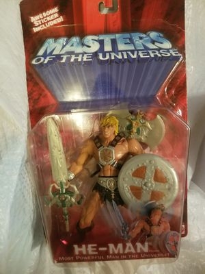 Toy collectible heman 4pack for Sale in Salem, OR