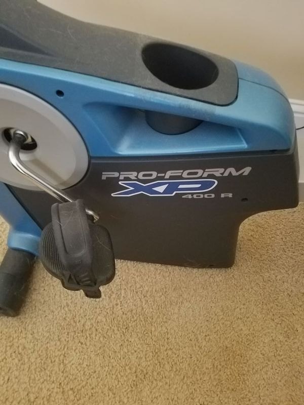 Recumbent Exercise Bike Pro Form Xp 400r Household In Douglasville