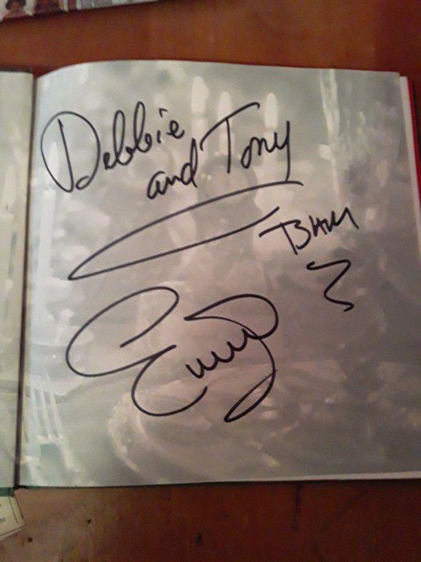 Autographed Emeril Cook Book