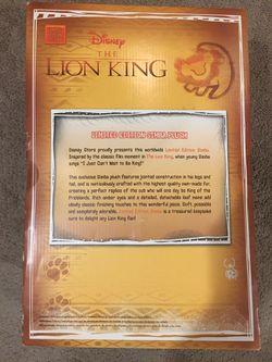 "Lion Long Simba Limited Edition 12"" Plush Thumbnail"