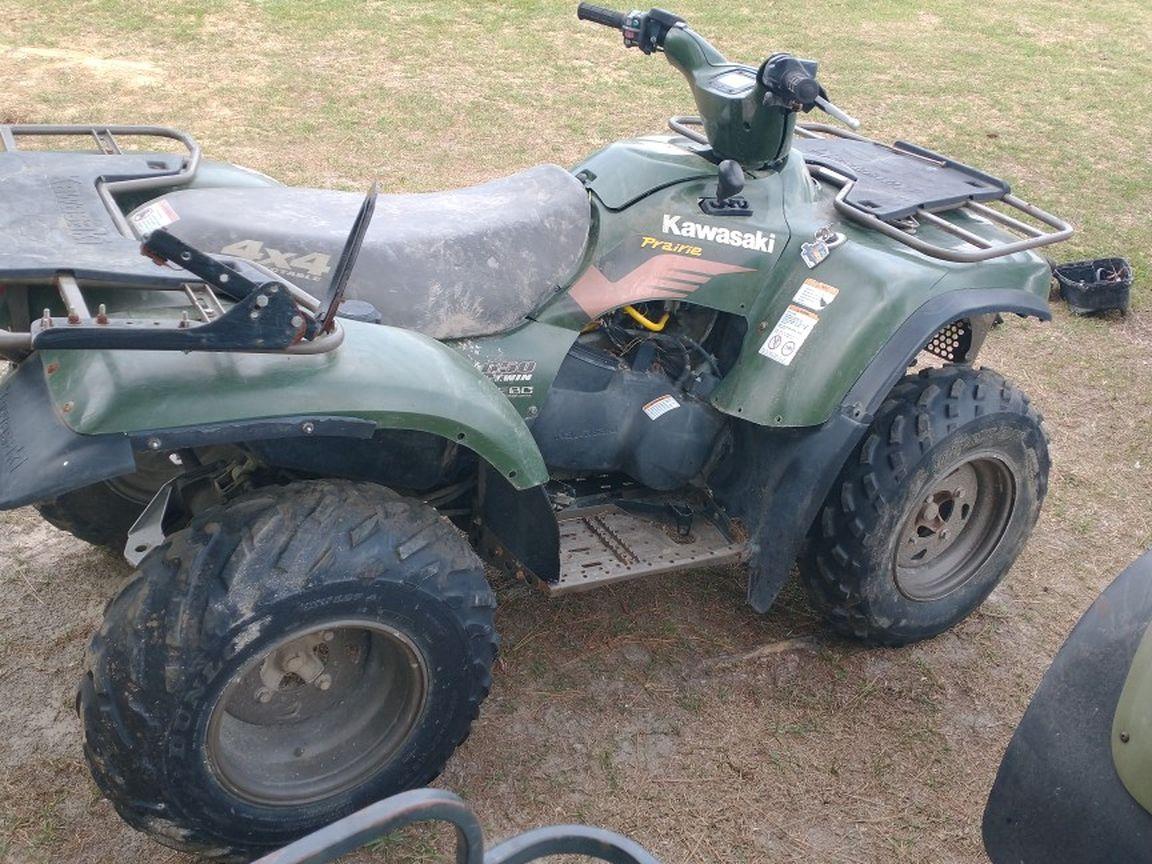 Photo 650 Kawasaki ATV