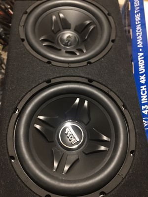 """Photo 2 12"""" subwoofers for sale new"""