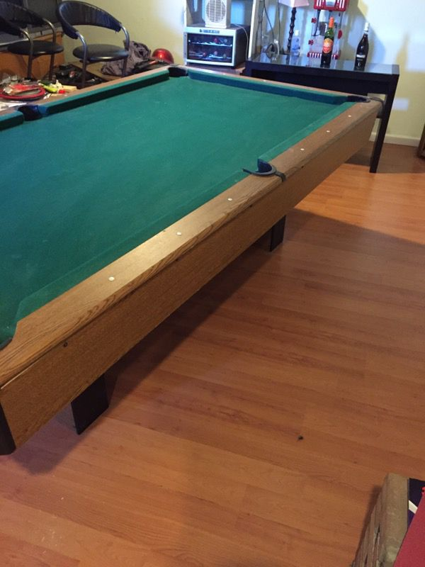 8 Ft Harvard 3 Piece Slate Pool Table General In Columbus Oh Offerup