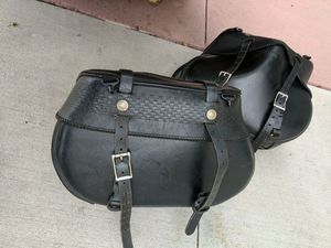 Motorcycle Saddle bags (used) for Sale in Coronado, CA