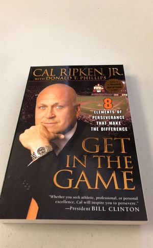 Autographed Paperback Book by Cal Ripken for Sale in Fairfax, VA