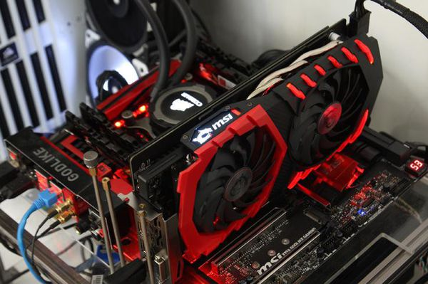 MSI Geforce GTX 1060 6gb Gaming X GDRR5 Graphics Card Dual for Sale in  Seattle, WA - OfferUp