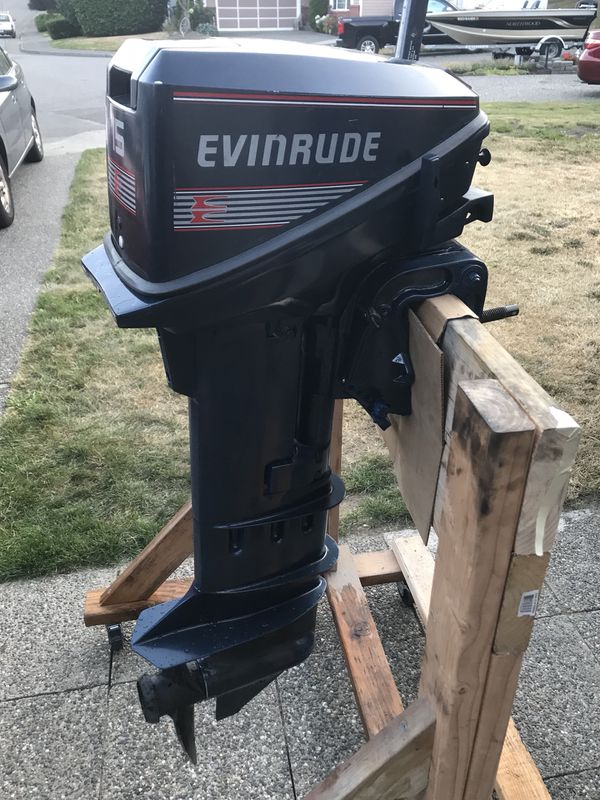 Evinrude 15 Hp >> Evinrude 15 Hp Long Shaft For Sale In Everett Wa Offerup