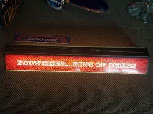Photo Vintage 78 Budweiser pool table light