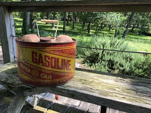 Photo Vintage Gas Can Decoration