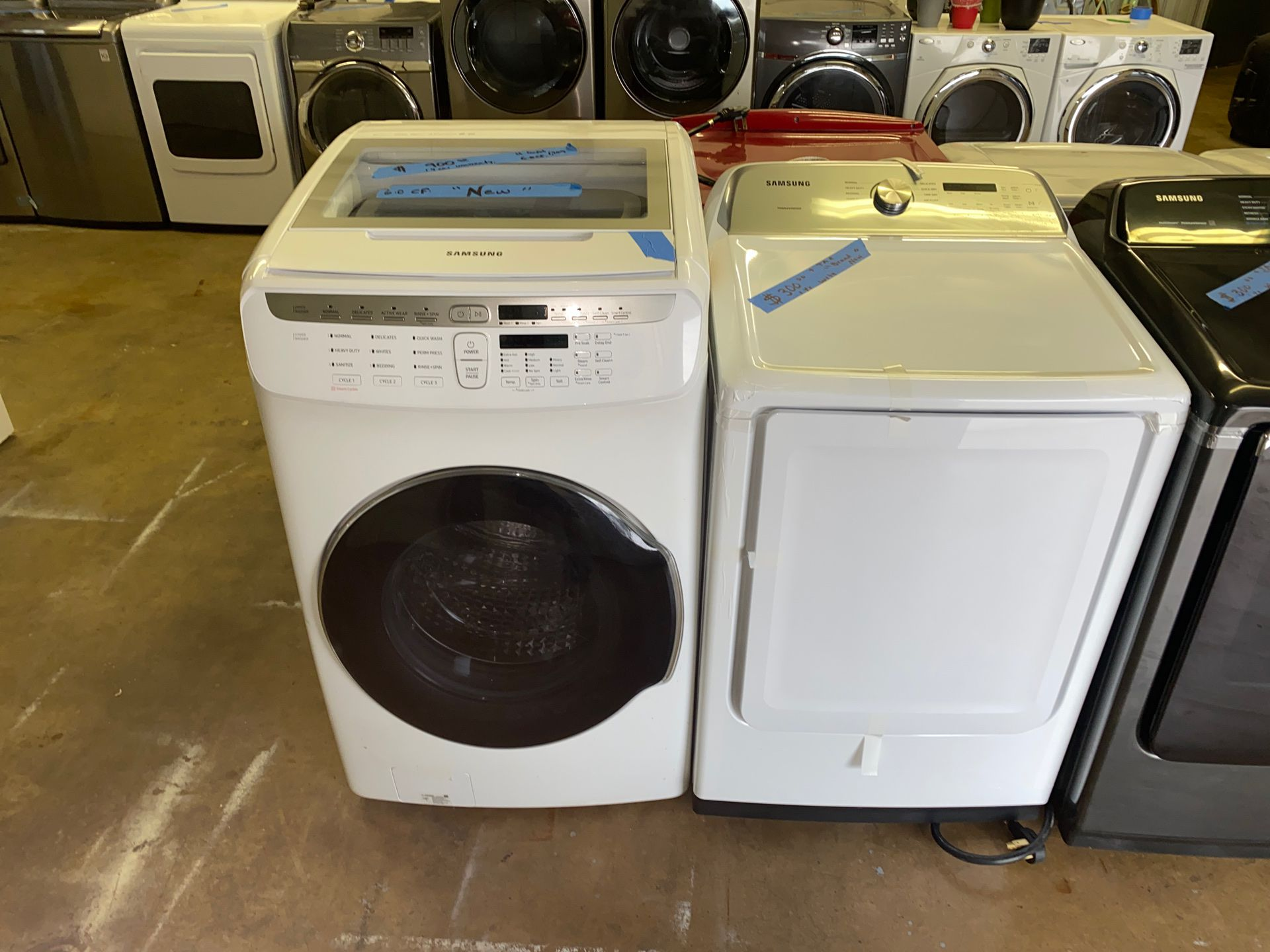 samsung washer & dryer set 2lo(contact info removed)