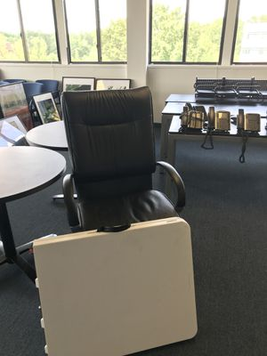 Office leather chair for Sale in Reston, VA