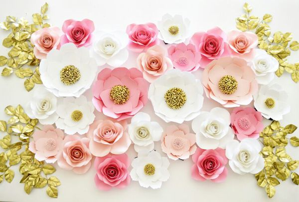 Baby shower paper flowers decorations backdrop general in houston baby shower paper flowers decorations backdrop general in houston tx offerup mightylinksfo