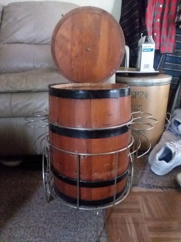 Vintage Wooden Wine Barrel For Sale In Saint Joseph Mo Offerup