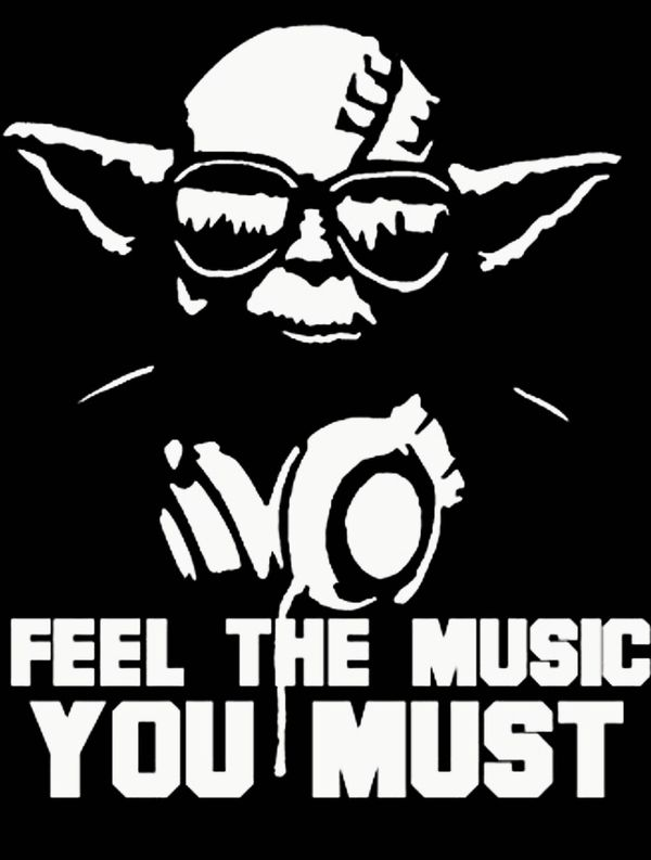 Star wars yoda vinyl decal great gift for the dj in your life cars trucks in eugene or offerup
