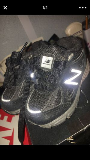 separation shoes fb3d7 a4ebd Toddlers Blue Foam Posites Size 4C.  25.00. Washington, DC. Toddlers Black  New Balance 990 s Si.
