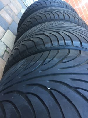 Sumitomo tires.set staggered size 18 for Sale in Manassas, VA