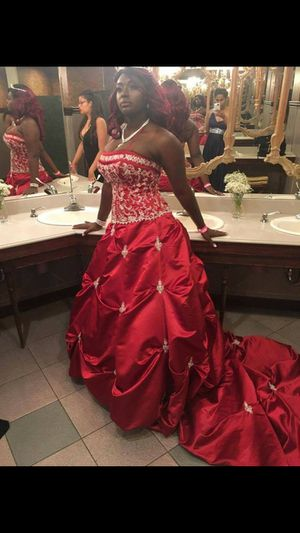 Davinci Red Wedding Dress For In Albany Ny