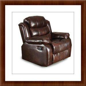 Burgundy recliner chair free shipping for Sale in Fort Washington, MD
