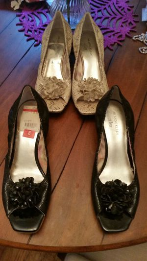 2 pair of Anne Klein shoes.. size 8 $20 each for Sale in Pittsburgh, PA