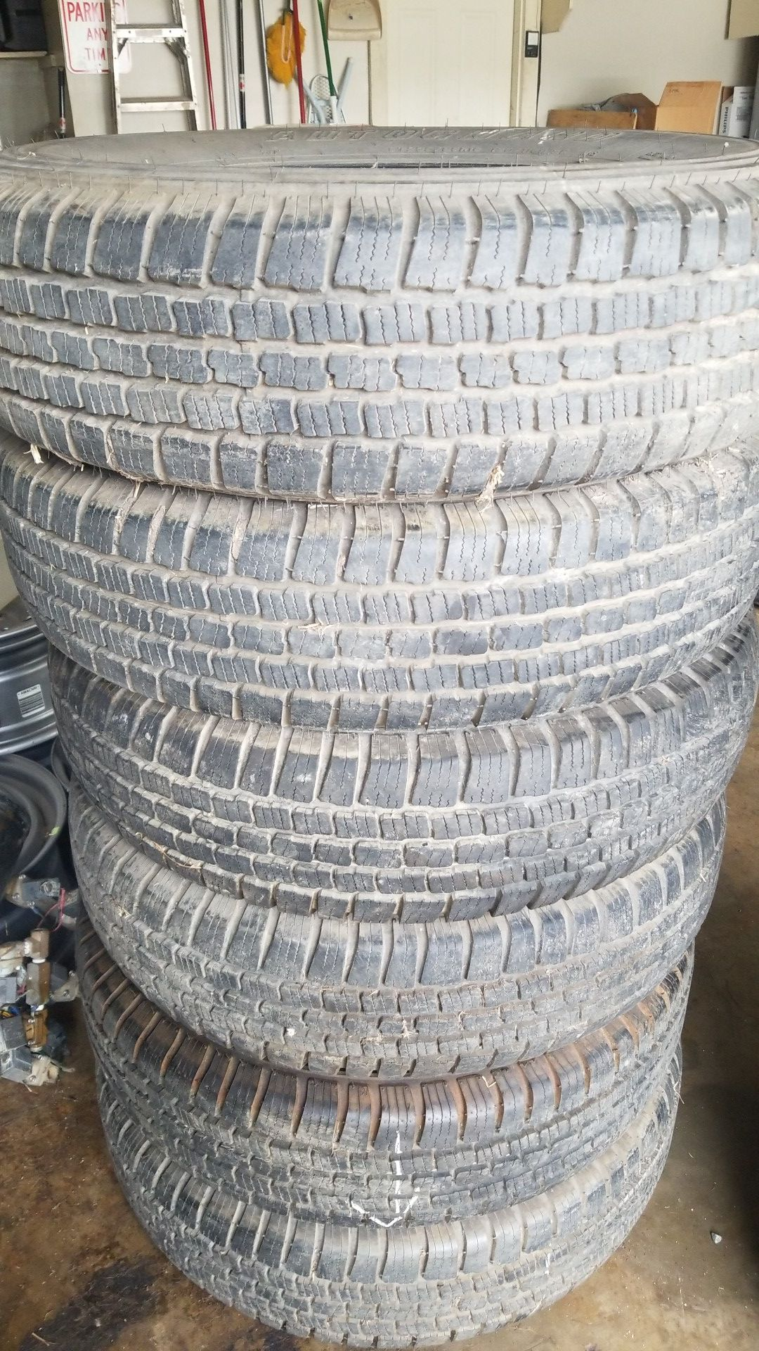 (6) 235/85 R16 Autoguard dually tires