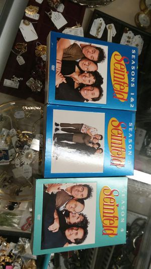 Seinfeld season 1,2,3,4 dvd excellent condition for Sale in Winston-Salem, NC
