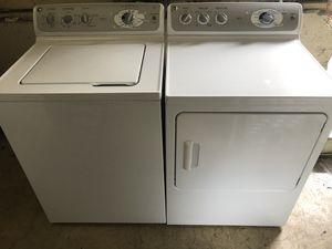 Photo GE washer dryer