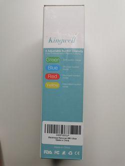 Facial Blackhead Remover Vacuum - Kingwell Pore Cleaner Rechargeable Blackhead Removal Tool Thumbnail