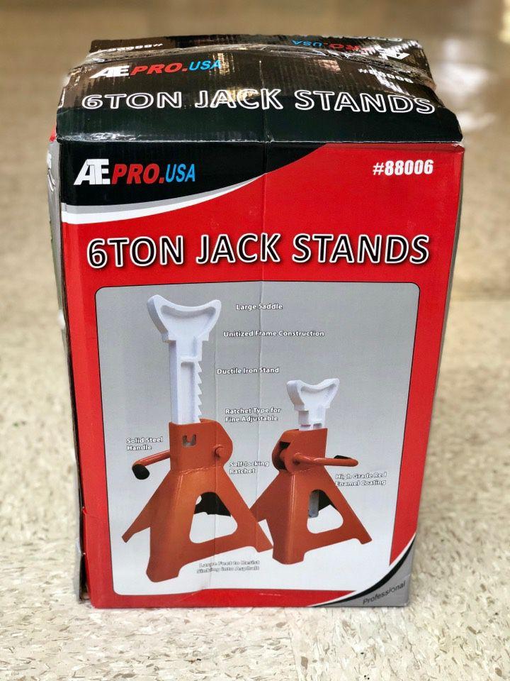 6 TON JACK STAND / SOPORTE DE GATO DE 6 TONELADAS