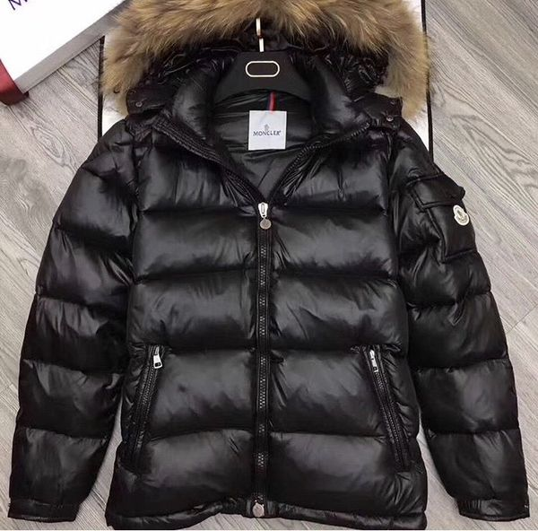 bb8b2811fbe0 Brand New MONCLER Men s Puffer Coat W  Real Fur (Sizes 0