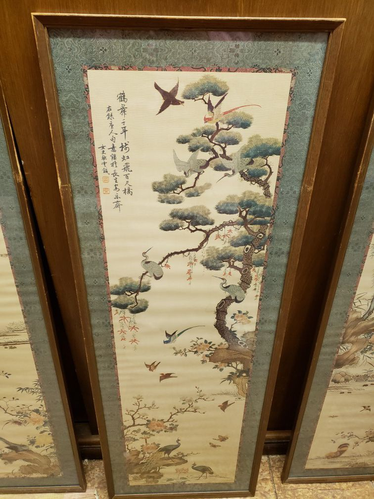 Authentic Japanese Paintings