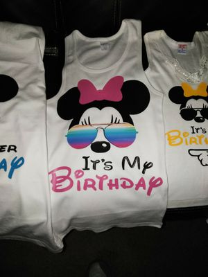 Disney Its My Birthday Shirts For Sale In Duarte