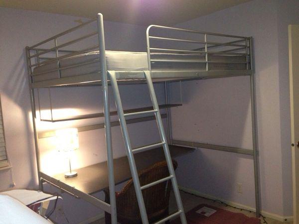 Ikea Svarta Loft Bed With Shelf Amp Desk For Sale In Auburn