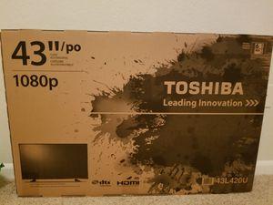 Brand New Toshiba TV 42in 1080p for Sale in Fairfax, VA