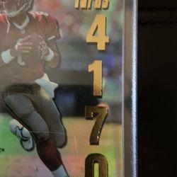 49ers Steve Young Rare Score Passing Yards Insert Card #/4,170 🔥 Thumbnail