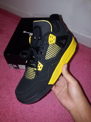 """Jordan Retro 4 """"Thunder"""" for Sale in Woodbridge, VA"""